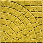 Πλάκα πεζοδρομίου Βυζαντινό Κίτρινο