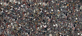 Paving tiles with pebbles