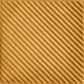 Paving tiles with nonslip ramp-type pattern