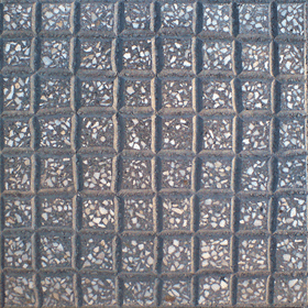 Paving tiles with rustic style