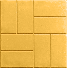 Rectangular brick style pattern