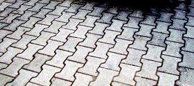 Double T block pavers
