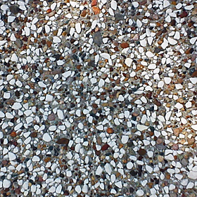 Paving tiles with pebbles Mykonos Ajax